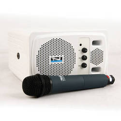 Anchor Audio AN-130BP+ Powered Speaker and Wireless Handheld Microphone System