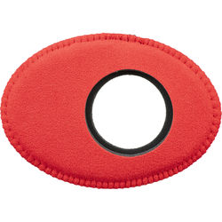 Bluestar Oval Extra Large Ultrasuede Microfiber Eyecushion (Red)