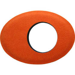 Bluestar Oval Extra Large Ultrasuede Microfiber Eyecushion (Orange)