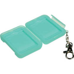 Ruggard Memory Card Case for 2 Compact Flash or CFast Cards (Light Green)