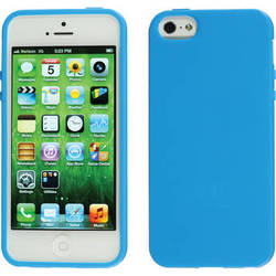 Xuma Flex Case for iPhone 5, 5s & SE (Blue)