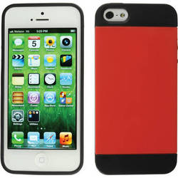 Xuma Hybrid Case for iPhone 5, 5s & SE (Red)