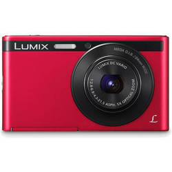 Panasonic Lumix DMC-XS1 Digital Camera (Red)