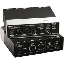 Steinberg UR22 - USB 2.0 Audio Interface with Dual Microphone Preamps