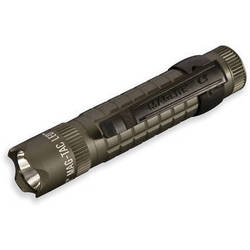 Maglite Mag-Tac LED Flashlight (Crowned Bezel, Foliage Green)