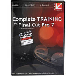 Class on Demand Video Download: Complete Training for Final Cut Pro 7