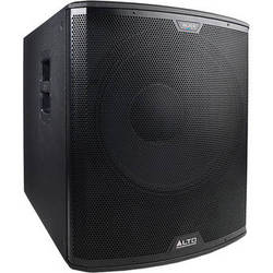 "Alto Black Series 18SUB 2400W 18"" Active Subwoofer"