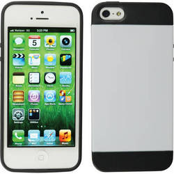Xuma Hybrid Case for iPhone 5, 5s & SE (White)