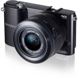 Samsung NX1100 Mirrorless Digital Camera with 20-50mm f/3.5-5.6 Lens (Black)