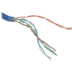 Pearstone Cat5e Bulk Cable - 1000' Pull Box (Blue)
