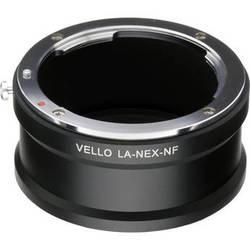 Vello Nikon F Mount Lens to Sony E-Mount Camera Adapter