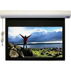 "Vutec 43 x 57"" Lectric I RF Plug-and-View Motorized Projection Screen with SoundScreen (Dove Gray)"