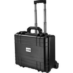 Barska HD-600 Loaded Gear Wheeled Hard Case (Black, Foam)