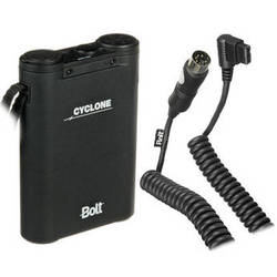 Bolt Bolt Cyclone Rechargeable NiMH Battery Pack Kit with BO-CZ Canon Flash Cable