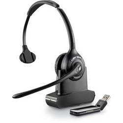 Plantronics Savi W410 Monaural Over-the-Head USB Wireless Headset with Mic