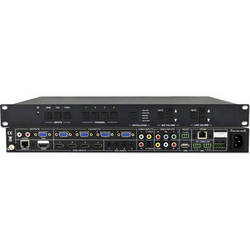 KanexPro 12-Input HDBaseT Classroom Presentation Switcher & Scaler with VGA & HDMI Out