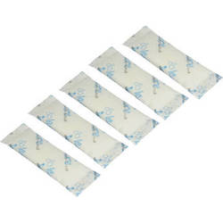 Leak Insure Shorty Absorbent Sachets for Compact Underwater Camera Housings (5 Pack)