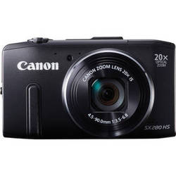 Canon PowerShot SX280 HS Digital Camera (Black)
