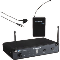 Samson Concert 88 Lavalier UHF Wireless Microphone Presentation System (D: 542 to 566 MHz)