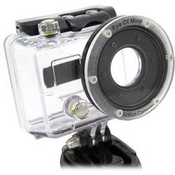Eye Of Mine Flat Lens Housing Professional for GoPro HD HERO & HERO2