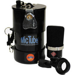 Alfa Case 20036MTLB-BLACK MicTube Weatherproof Microphone Case (Black)