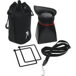 """XIT Professional LCD Viewfinder Loupe for 3"""" DSLR Screens"""