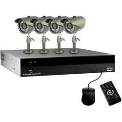 Clover Electronics HDV4324 4-Channel HD-SDI DVR Security System