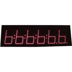 "alzatex DSP505B6 5-Digit Display with 5"" High LED Digits (Black)"