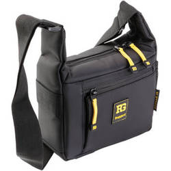 Ruggard Streak 15 Shoulder Bag (Black with Yellow Accenting)