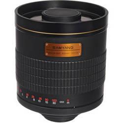 Samyang 800mm f/8.0 Mirror T-Mount Lens (Black)
