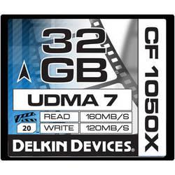 Delkin Devices 32GB CF 1050X UDMA 7 Cinema Memory Card