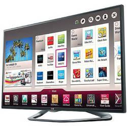 """LG 50"""" LA6200 Full HD 1080p Cinema 3D Smart LED TV"""