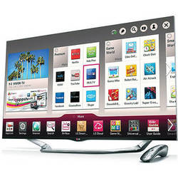 "LG 60"" LA8600 Full HD 1080p Cinema 3D Smart LED TV"