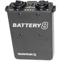 Quantum Instruments QB8 Rechargeable Battery with Charger for OMICRON 4 Video Light (US)