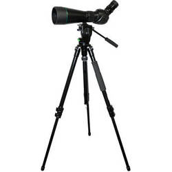 Olivon T-84EDO 20-60x84 Spotting Scope Kit (Angled View)