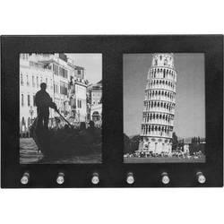 """Barska 2-Section 4x6"""" Picture Frame / Key Holder"""