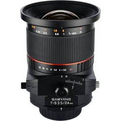Samyang 24mm f/3.5 ED AS UMC Tilt-Shift Lens for Nikon