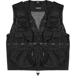 Humvee by CampCo Combat Photo Vest, XX-Large (Black)