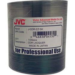 JVC CD-R (Shiny Silver, 100-Pack)