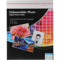 "Hahnem�hle Photo Luster 290 Inkjet Paper (17 x 22"", 25 Sheets)"