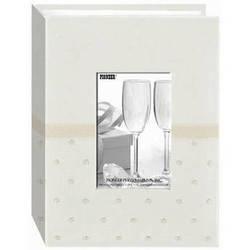 Pioneer Photo Albums CEM-100 Celebration Embroidered Frame Fabric Photo Album (Ivory)