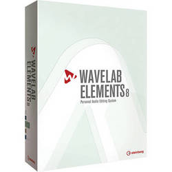Steinberg Wavelab Elements 8 - Personal Audio Editing System
