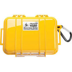 Pelican 1020 Micro Case (Solid Yellow)