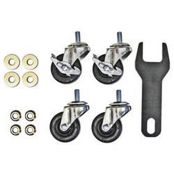 """Hannay Reels 99490073 2"""" Caster Kit for AV1, AV3, AVD1, & AVD3"""