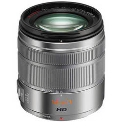 Panasonic Lumix G Vario 14-140mm f/3.5-5.6 ASPH. POWER O.I.S. Lens (Silver)