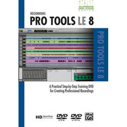 ALFRED DVD: Pro Audio Series: Beginning Pro Tools LE 8