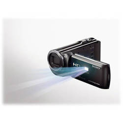 Sony 16GB HDR-PJ380E HD Handycam Camcorder with Projector (PAL, Black)