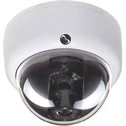 American Dynamics Discover 500 Mini-Dome Indoor Camera with Varifocal Lens (White, PAL)