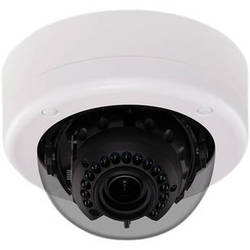 American Dynamics Discover 700 Mini-Dome Outdoor Camera with Varifocal Lens (Black, PAL)