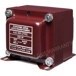 ACUPWR AJD-300 Japan to US Step-Down Transformer (300W)
